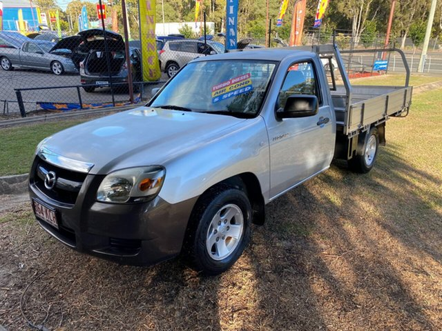 Used Mazda BT-50 UNY0W3 DX 4x2, 2007 Mazda BT-50 UNY0W3 DX 4x2 Silver 5 Speed Manual Cab Chassis