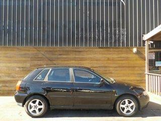 2000 Audi A3 8L MY2000 Black 4 Speed Automatic Hatchback.