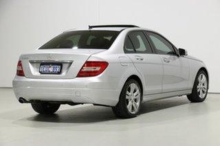 2013 Mercedes-Benz C200 W204 MY12 BE Silver 7 Speed Automatic G-Tronic Sedan