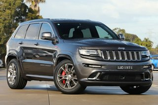 2013 Jeep Grand Cherokee WK MY2014 SRT Grey 8 Speed Sports Automatic Wagon.