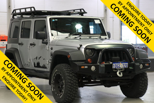 Used Jeep Wrangler Unlimited JK MY09 Sport (4x4), 2009 Jeep Wrangler Unlimited JK MY09 Sport (4x4) Silver 6 Speed Manual Softtop