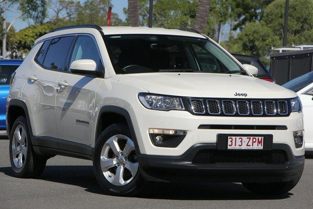 Used Jeep Compass M6 MY18 Longitude FWD, 2018 Jeep Compass M6 MY18 Longitude FWD White 6 Speed Automatic Wagon