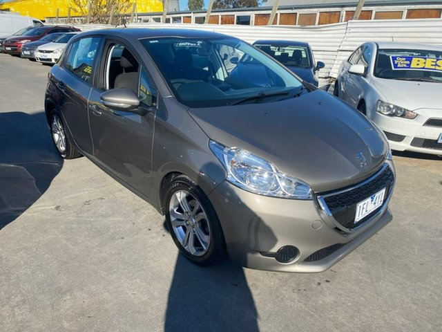 Used Peugeot 208 A9 MY15 Active, 2015 Peugeot 208 A9 MY15 Active Grey 4 Speed Automatic Hatchback
