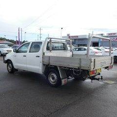 2009 Toyota Hilux KUN16R MY09 SR 4x2 White 5 Speed Manual Utility