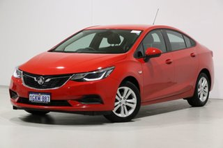 2017 Holden Astra BL MY17 LS Red 6 Speed Automatic Sedan.