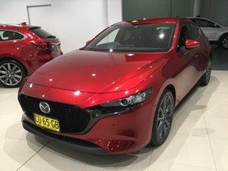 2019 Mazda 3 BP2HLA G25 SKYACTIV-Drive GT Soul Red 6 Speed Sports Automatic Hatchback