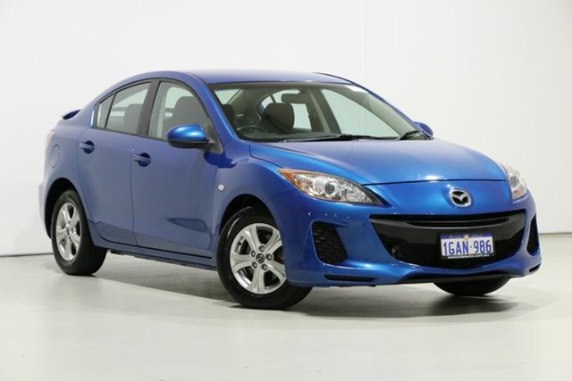Demo Mazda 3 BL Series 2 MY13 Neo, 2013 Mazda 3 BL Series 2 MY13 Neo Blue 6 Speed Manual Sedan