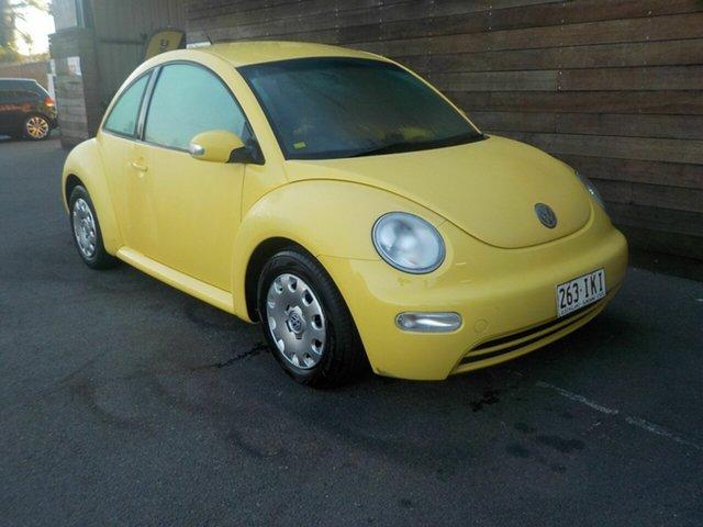 Used Volkswagen Beetle 9C MY2005 Coupe, 2004 Volkswagen Beetle 9C MY2005 Coupe Yellow 5 Speed Manual Liftback