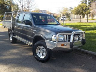 2005 Ford Courier PH GL Crew Cab 4x2 5 Speed Manual Utility.