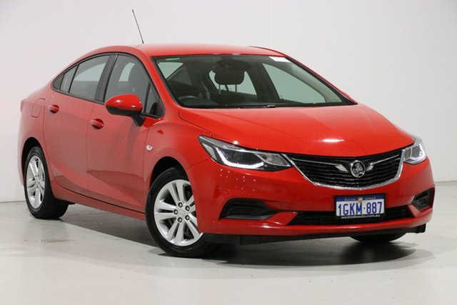 Demo Holden Astra BL MY17 LS, 2017 Holden Astra BL MY17 LS Red 6 Speed Automatic Sedan