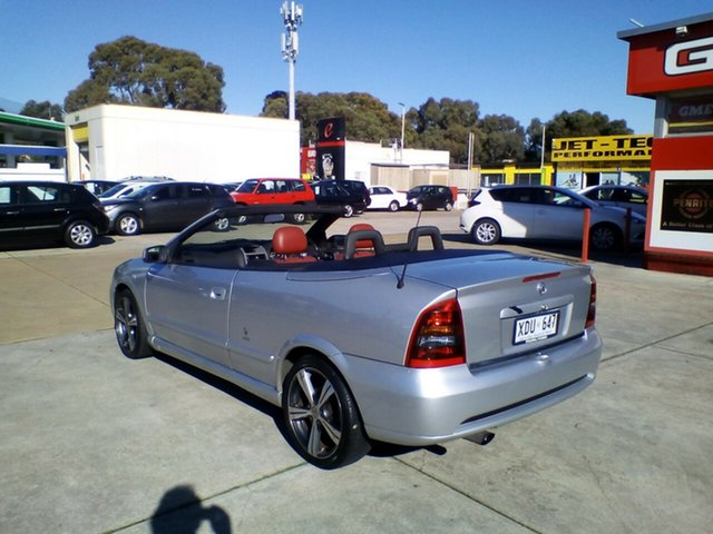 Used Holden Astra TS MY03 Linea Rossa, 2004 Holden Astra TS MY03 Linea Rossa Silver 5 Speed Manual Convertible