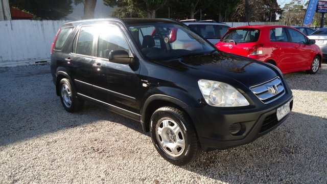 Used Honda CR-V RD MY2005 4WD, 2005 Honda CR-V RD MY2005 4WD Black 5 Speed Automatic Wagon