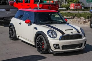2013 Mini Coupe R58 John Cooper Works White 6 Speed Sports Automatic Coupe.