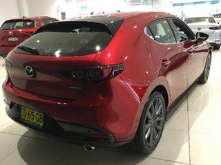 2019 Mazda 3 BP2HLA G25 SKYACTIV-Drive GT Soul Red 6 Speed Sports Automatic Hatchback.