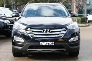 2014 Hyundai Santa Fe DM MY14 Elite Phantom Black 6 Speed Sports Automatic Wagon