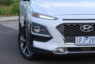 2019 Hyundai Kona OS.2 MY19 Highlander D-CT AWD Chalk White 7 Speed Sports Automatic Dual Clutch.
