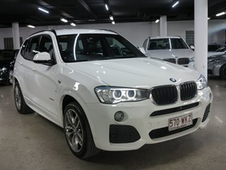 2016 BMW X3 F25 LCI xDrive20i Steptronic White 8 Speed Automatic Wagon.