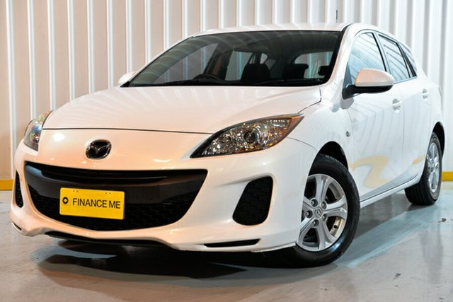 Used Mazda 3 BL10F2 Neo Activematic, 2011 Mazda 3 BL10F2 Neo Activematic White 5 Speed Sports Automatic Hatchback