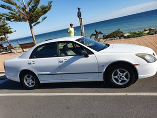 2003 Mitsubishi Magna TL ES White 4 Speed Sports Automatic Sedan