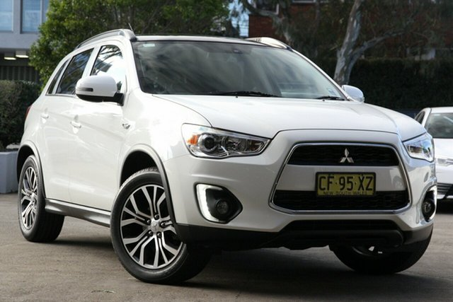 Used Mitsubishi ASX XB MY15 XLS (2WD), 2015 Mitsubishi ASX XB MY15 XLS (2WD) White Continuous Variable Wagon
