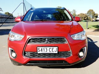 2014 Mitsubishi ASX XB MY15 XLS 2WD Red 6 Speed Constant Variable Wagon.
