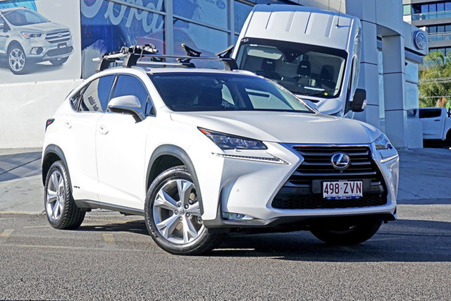 Used Lexus NX AYZ15R NX300h E-CVT AWD Sports Luxury, 2015 Lexus NX AYZ15R NX300h E-CVT AWD Sports Luxury White 6 Speed Constant Variable Wagon Hybrid