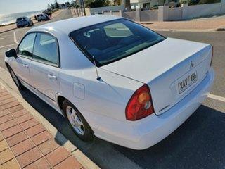 2003 Mitsubishi Magna TL ES White 4 Speed Sports Automatic Sedan.