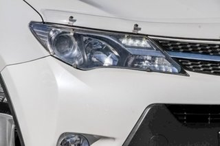 2014 Toyota RAV4 ZSA42R MY14 GXL 2WD White 7 Speed Wagon