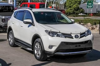 2014 Toyota RAV4 ZSA42R MY14 GXL 2WD White 7 Speed Wagon.