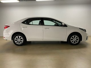 2016 Toyota Corolla ZRE172R Ascent White 7 Speed CVT Auto Sequential Sedan.