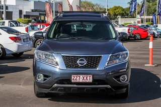2014 Nissan Pathfinder R52 MY15 ST-L X-tronic 2WD Blue 1 Speed Constant Variable Wagon.