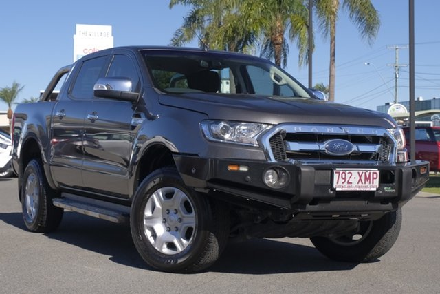 Used Ford Ranger PX MkII XLT Double Cab, 2017 Ford Ranger PX MkII XLT Double Cab Grey 6 Speed Sports Automatic Utility