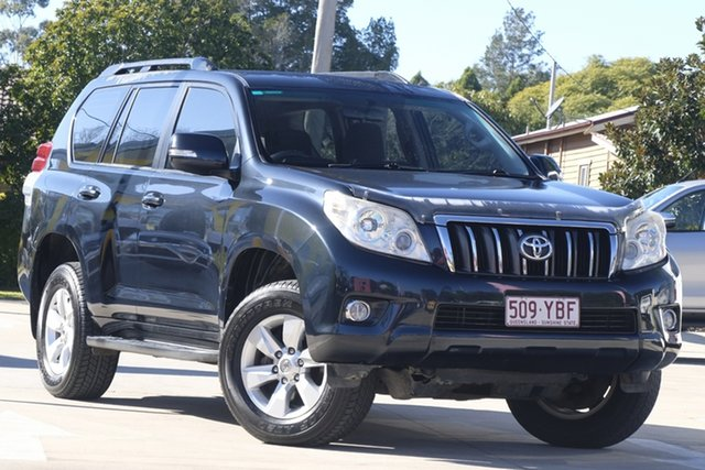 Used Toyota Landcruiser Prado KDJ150R GXL, 2010 Toyota Landcruiser Prado KDJ150R GXL Green 5 Speed Sports Automatic Wagon