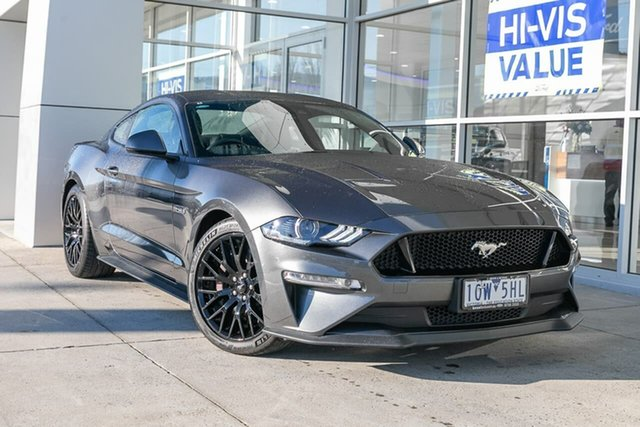 Used Ford Mustang FN 2019MY GT Fastback SelectShift RWD, 2018 Ford Mustang FN 2019MY GT Fastback SelectShift RWD Grey 10 Speed Sports Automatic Fastback
