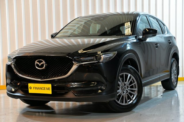 Used Mazda CX-5 KE1022 Maxx SKYACTIV-Drive i-ACTIV AWD Sport, 2017 Mazda CX-5 KE1022 Maxx SKYACTIV-Drive i-ACTIV AWD Sport Black 6 Speed Sports Automatic Wagon
