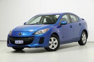 2013 Mazda 3 BL Series 2 MY13 Neo Blue 6 Speed Manual Sedan.