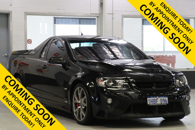 Used Holden Special Vehicles Maloo E Series R8, 2008 Holden Special Vehicles Maloo E Series R8 Black 6 Speed Manual Utility