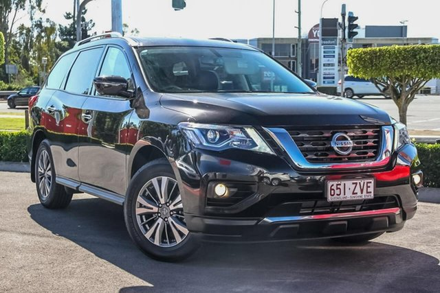 Used Nissan Pathfinder R52 Series III MY19 ST-L X-tronic 2WD, 2019 Nissan Pathfinder R52 Series III MY19 ST-L X-tronic 2WD Diamond Black 1 Speed Wagon
