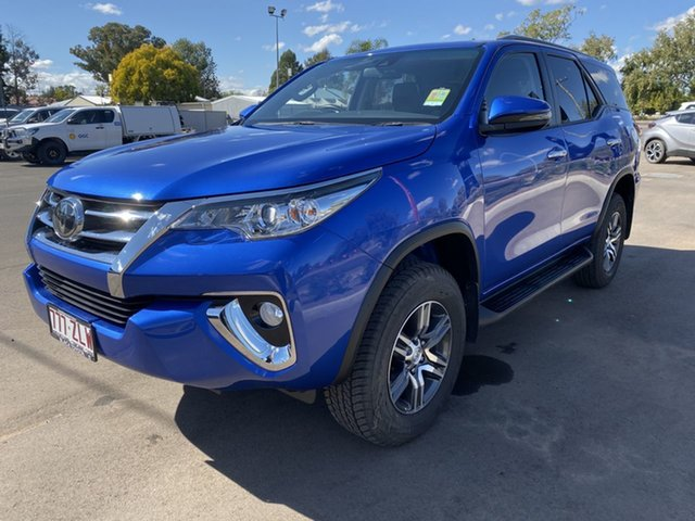 Demo Toyota Fortuner GUN156R GXL, 2020 Toyota Fortuner GUN156R GXL Nebula Blue 6 Speed Automatic Wagon