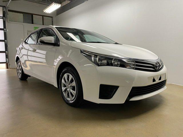 Used Toyota Corolla ZRE172R Ascent, 2016 Toyota Corolla ZRE172R Ascent White 7 Speed CVT Auto Sequential Sedan