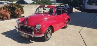 1953 Morris Minor Convertible Red 4 Speed.