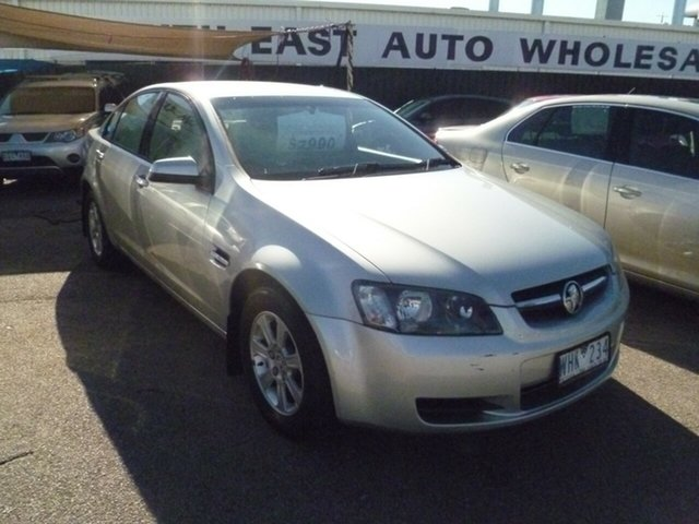 Used Holden Commodore VE MY09 Omega, 2008 Holden Commodore VE MY09 Omega Silver 4 Speed Automatic Sedan