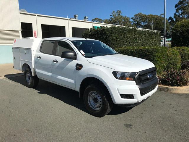 Used Ford Ranger PX MkII XL Double Cab 4x2 Hi-Rider, 2017 Ford Ranger PX MkII XL Double Cab 4x2 Hi-Rider White 6 speed Automatic Cab Chassis