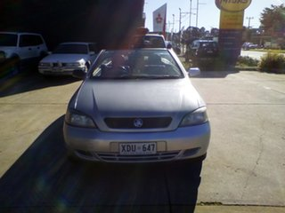 2004 Holden Astra TS MY03 Linea Rossa Silver 5 Speed Manual Convertible