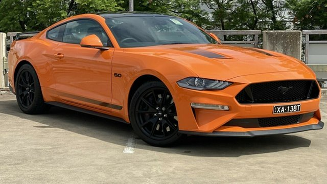 Used Ford Mustang FN 2020MY GT Fastback RWD, 2020 Ford Mustang FN 2020MY GT Fastback RWD Twister Orange/ 6 Speed Manual Fastback