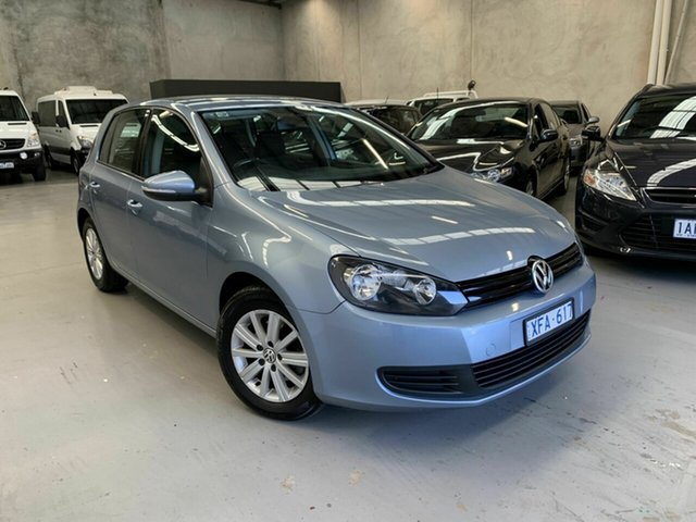 Used Volkswagen Golf VI MY10 90TSI DSG Trendline, 2009 Volkswagen Golf VI MY10 90TSI DSG Trendline Blue 7 Speed Sports Automatic Dual Clutch Hatchback