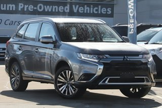 2019 Mitsubishi Outlander ZL MY19 ES 7 Seat (AWD) Grey Continuous Variable Wagon.