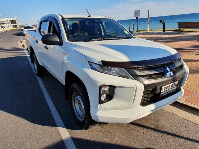 Used Mitsubishi Triton MR MY19 GLS Double Cab, 2019 Mitsubishi Triton MR MY19 GLS Double Cab White 6 Speed Sports Automatic Utility