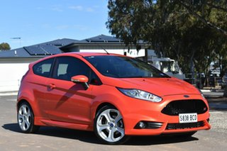 2014 Ford Fiesta WZ ST Orange 6 Speed Manual Hatchback
