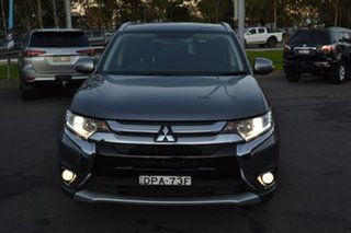 2017 Mitsubishi Outlander ZK MY17 LS 4WD Grey 6 Speed Wagon.
